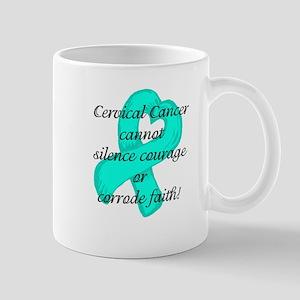 Courage and Faith Cervical Mug