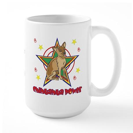 Chihuahua Power Large Mug