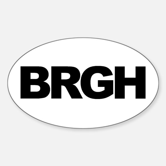 BRGH (PITTSBURGH) Oval Decal