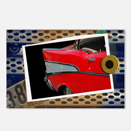 57 Chevy Bel Air Postcards (Package of 8)