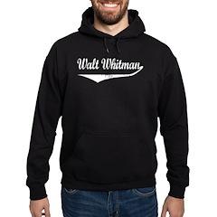 Walt Whitman Hoodie (dark)