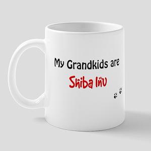 Shiba Inu Grandkids Mug