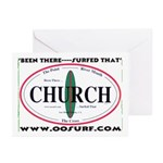 Church Surf Spots Greeting Cards (Pk of 10)