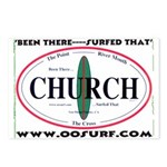 Church Surf Spots Postcards (Package of 8)