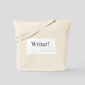 WRITER! Tote Bag
