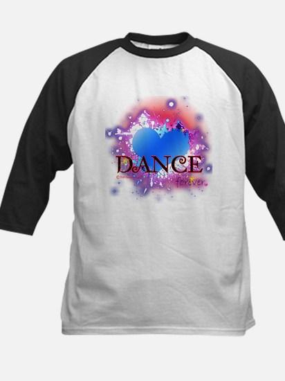 Love Dance Forever Kids Baseball Jersey