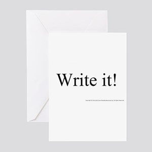 WRITE IT! Greeting Cards (Pk of 10)
