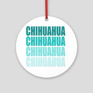 Chihuahua Ornament (Round)
