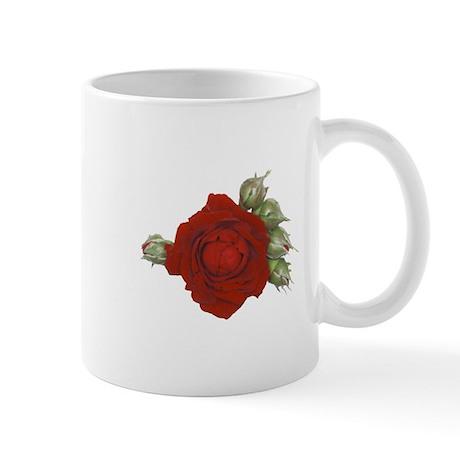 Rose bud Mug