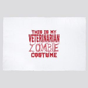 This Is My Veterinarian Zombie Costume 4' x 6' Rug