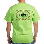 Church Surf Spots Green T-Shirt