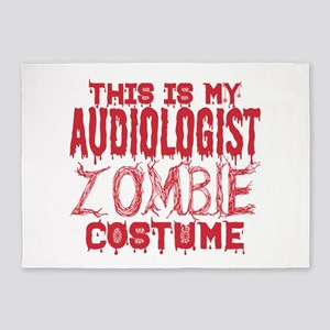 This Is My Audiologist Zombie Costu 5'x7'Area Rug