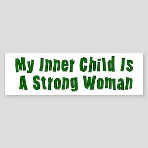 Inner Woman Power Sticker (Bumper)