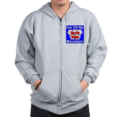 King of the Mountain Zip Hoodie