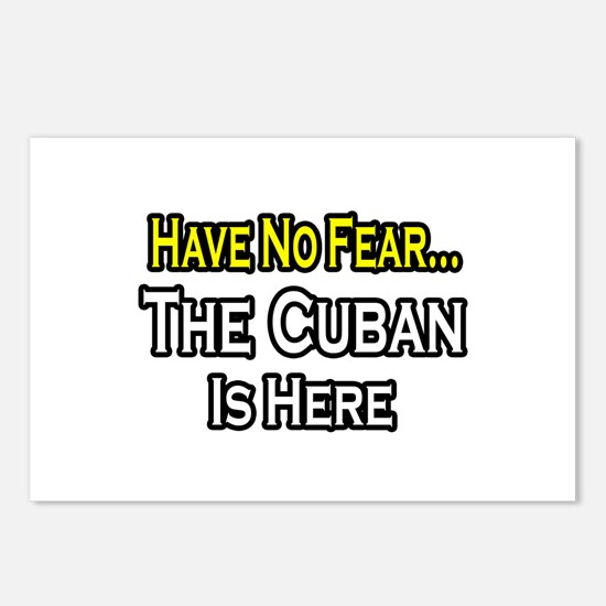 """""""No Fear, Cuban is Here"""" Postcards (Package of 8)"""