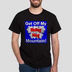 Skiing Hog Dark T-Shirt