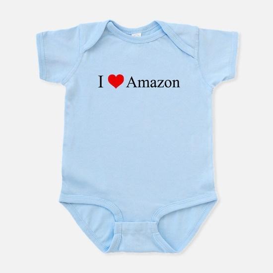 I Love Amazon Infant Bodysuit