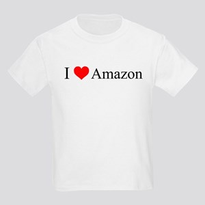 I Love Amazon Kids Light T-Shirt