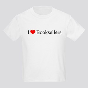 I Love Booksellers Kids Light T-Shirt