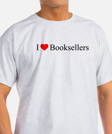 I Love Booksellers T-Shirt