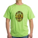 Lacey Police Green T-Shirt