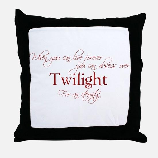 Unique Bella swan Throw Pillow