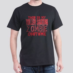 This Is My Roller Skating Zombie Costume H T-Shirt