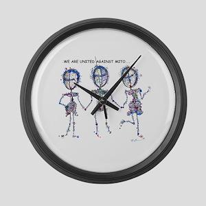 UnitedMitochondrialDisease Large Wall Clock