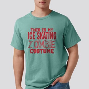 This Is My Ice Skating Zombie Costume Hall T-Shirt