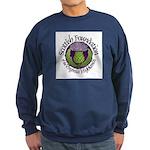 Scottish Thistle Sweatshirt (dark)