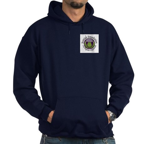 Scottish Thistle Hoodie (dark)