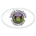 SFVH logo Oval Sticker