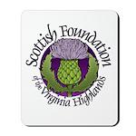 Scottish Thistle Mousepad