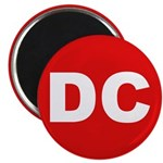 DC (Red and White) Magnet
