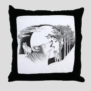 Night Calls Throw Pillow