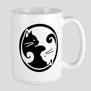 Yin Yang Cats: Stainless Steel Travel Mugs