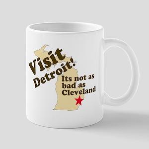 Visit Detroit, Its Not as Bad Mug