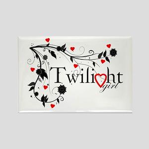 Twilight Girl Rectangle Magnet