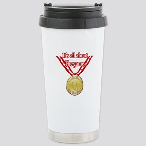 Canadian Hockey 2 Stainless Steel Travel Mug