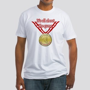 Canadian Hockey 2 Fitted T-Shirt