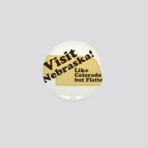Visit Nebraska, Like Colorado Mini Button