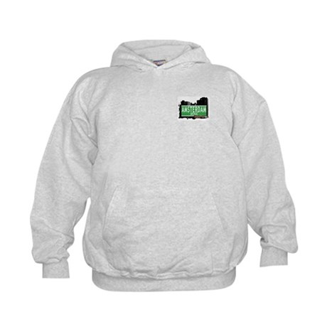 AMSTERDAM AVENUE, MANHATTAN, NYC Kids Sweatshirt