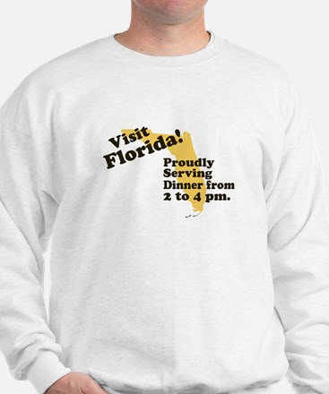 Florida, Proudly Serving Dinn Sweatshirt