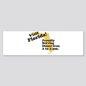 Florida, Proudly Serving Dinn Bumper Sticker