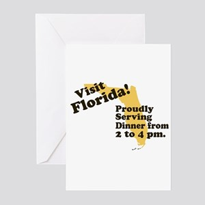 Florida, Proudly Serving Dinn Greeting Cards (Pk o