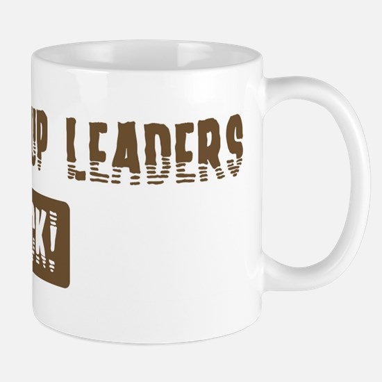 Youth Group Leaders Rocks Mug