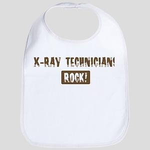 X-Ray Technicians Rocks Bib