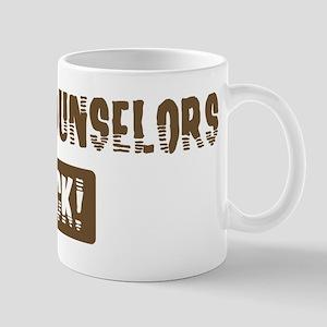 School Counselors Rocks Mug