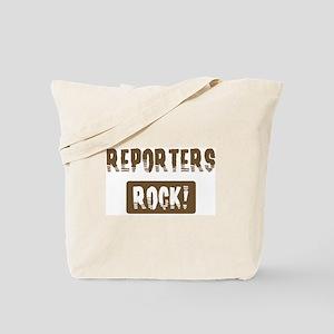 Reporters Rocks Tote Bag