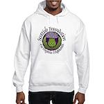 Scottish Thistle Hooded Sweatshirt